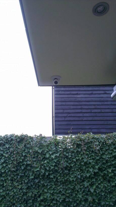 Inbreker gepakt doormiddel van CCTV bewakingscamera