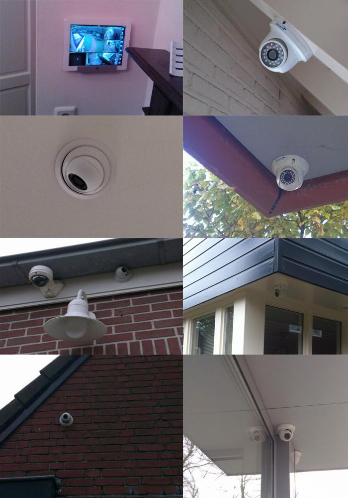 Bewakingscamera foto voorbeeld