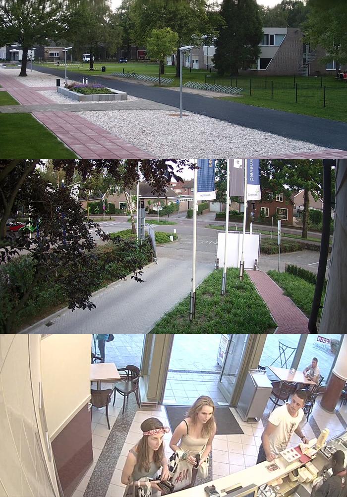 Camerabewaking voorbeeld IPcamera