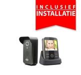 Video intercom draadloos incl installatie