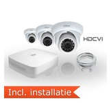 Dahua HDCVI Pakket 3 Camera's Incl. Installatie