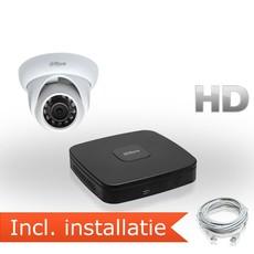 Dahua HD IP Pakket 1 Camera incl. installatie