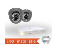 Dahua Analoog Pakket - 2 Camera's incl. installatie