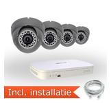 Dahua Analoog Pakket - 4 Camera's incl. installatie