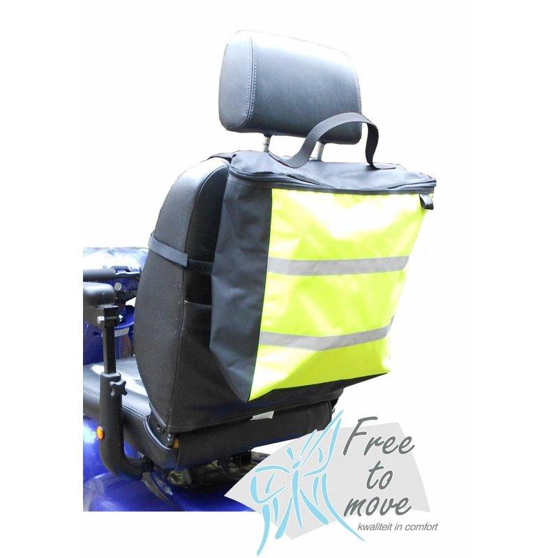 Scootmobiel en rolstoeltas met reflectie