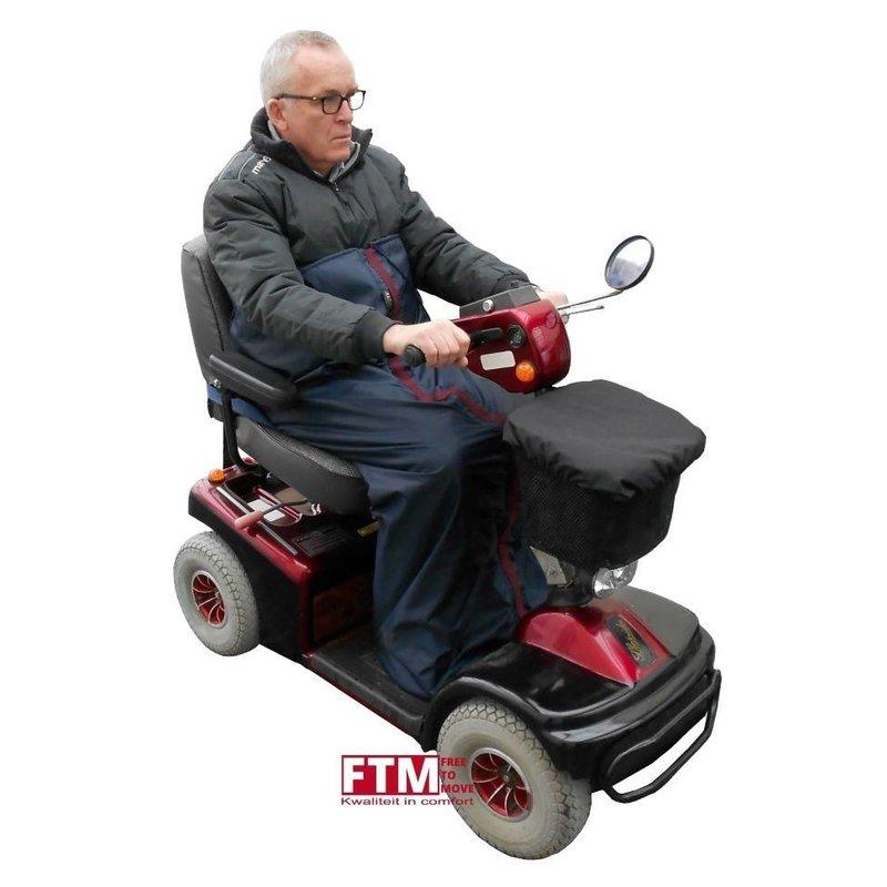 Warme voetenzak voor de scootmobiel of rolstoel