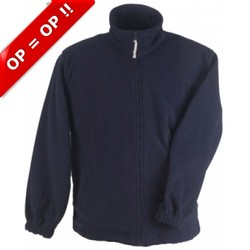 Warm fleece vest unisex