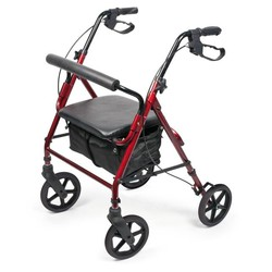 Vitility Lichtgewicht rollator home indoor en outdoor
