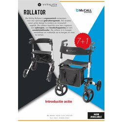 Vitility Rollator indoor en outdoor
