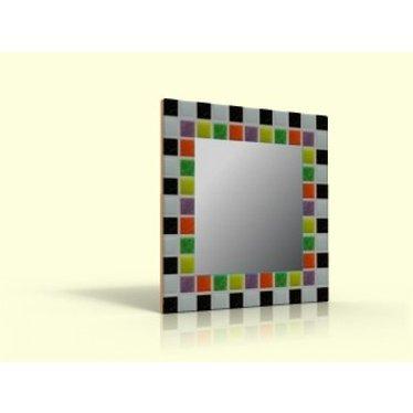 Cristallo Bastelset Mosaikspiegel Basic 04