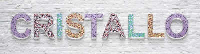 Mosaik Bastelsets Buchstaben Kinderfeste daheim
