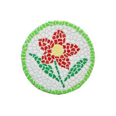 Cristallo Mosaik Bastelset Wandschilder Blume