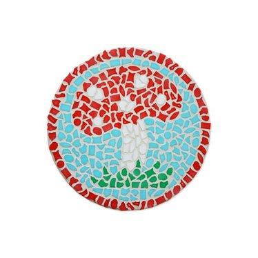 Cristallo Mosaik Bastelset Wandschilder Pilz