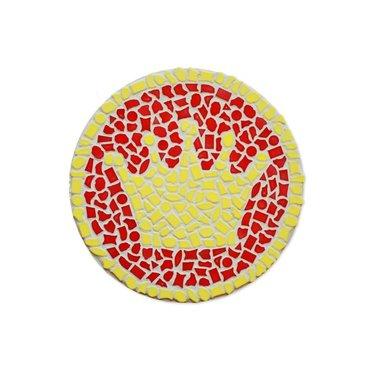 Cristallo Mosaik Bastelset Wandschilder Krone