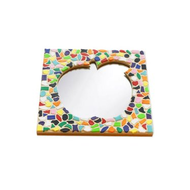 Cristallo Mosaik Bastelset Spiegel Apfel Vario