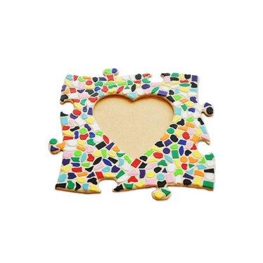 Cristallo Mosaik Bastelset Bilderrahmen Vario Herz