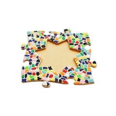 Cristallo Mosaikbastelset Bilderrahmen Vario Stern