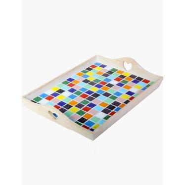 Cristallo Mosaik Bastelset Tablett MAXI nr. 1