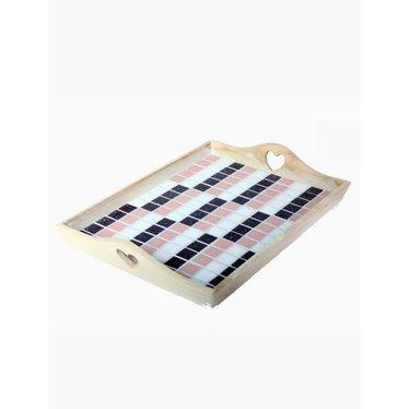 Cristallo Mosaik Bastelset Tablett MAXI nr. 2
