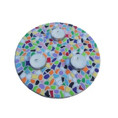 Cristallo Mosaikbastelset Teelichthalter Vario