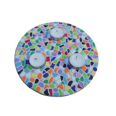 Cristallo Mosaik Bastelset Teelichthalter Vario