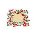 Cristallo Mosaikbastelset Bilderrahmen Stern Weihnachten
