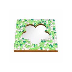 Cristallo Mosaikbastelset Spiegel Blume Frühling