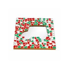 Cristallo Mosaikbastelset Spiegel Auto Weihnachten