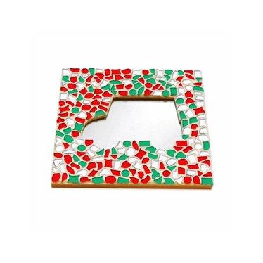 Cristallo Mosaik Bastelset Spiegel Auto Weihnachten