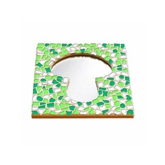 Cristallo Mosaikbastelset Spiegel Erdschwamm Frühling