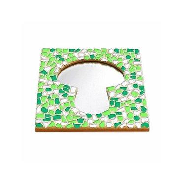 Cristallo Mosaik Bastelset Spiegel Erdschwamm Frühling
