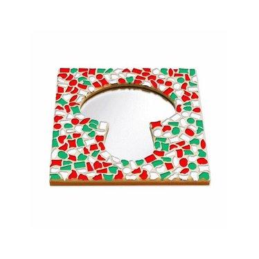 Cristallo Mosaik Bastelset Spiegel Erdschwamm Weihnachten