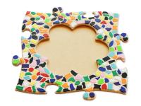 Mosaik Bastelset Bilderrahmen Kinderfeste daheim Blume