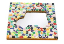 Mosaik Bastelset Spiegel Kinderfeste daheim Auto