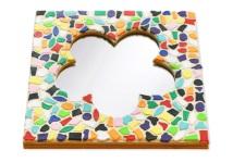 Mosaik Bastelset Spiegel Kinderfeste daheim Blume