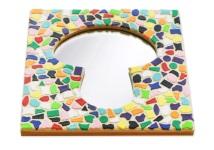 Mosaik Bastelset Spiegel Kinderfeste daheim Erdschwamm