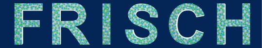 Buchstaben Farbkombination weiss, hellblauw und hellgrün