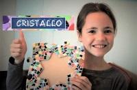 Mosaik kinderfest daheim Bilderrahmen