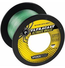 SpiderWire SpiderWire Ultracast 4 Carriers Green Dyneema Gevlochten Lijn