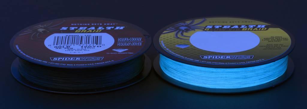 SpiderWire Gevlochten Lijn Stealth Glow-Vis Dyneema