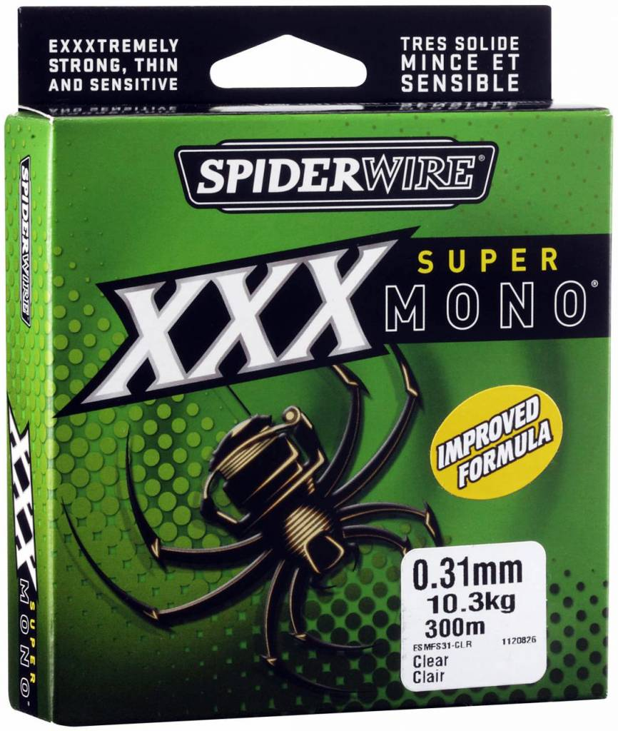 SpiderWire SpiderWire Super Mono XXX Nylon Vislijn