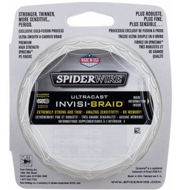 SpiderWire SpiderWire Ultracast 8 Carrier Invisi Braid Dyneema Gevlochten Lijn
