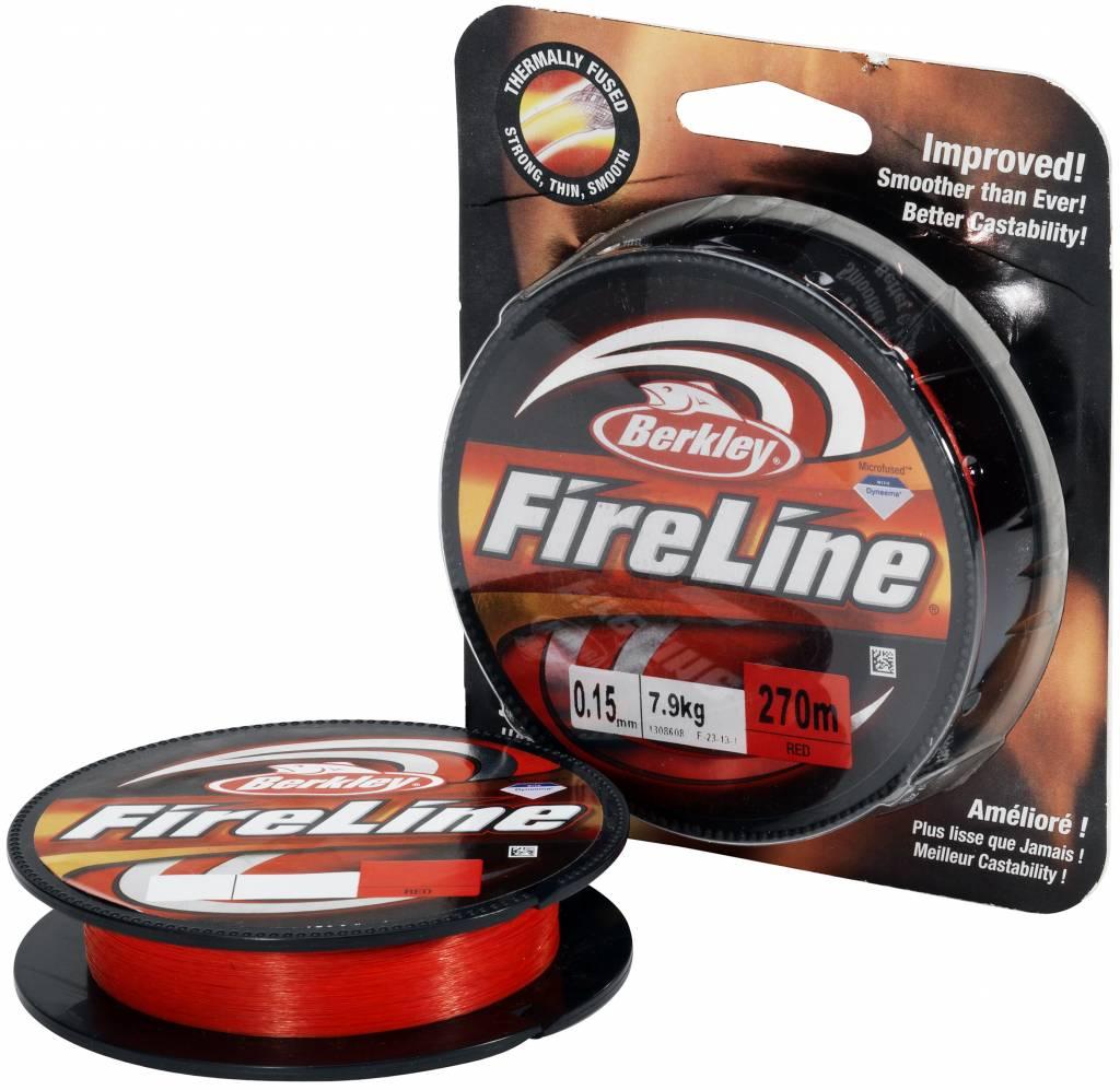 Berkley Berkley FireLine Red Dyneema Gevlochten Lijn
