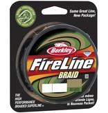 Berkley Berkley FireLine Braid Green Dyneema Gevlochten Lijn