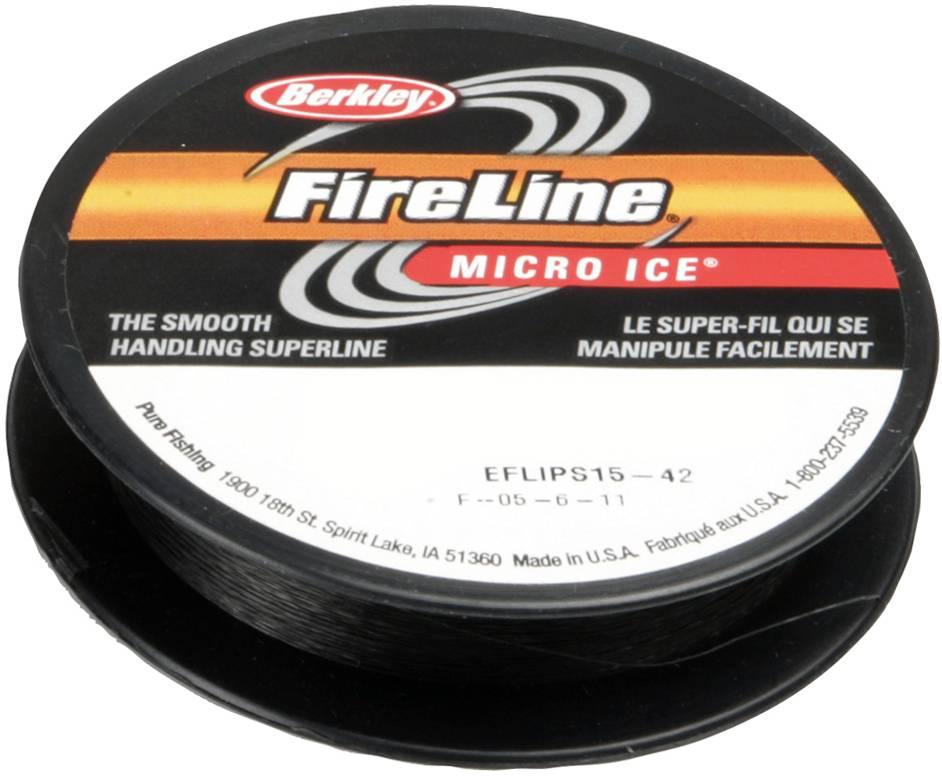 Berkley Berkley FireLine Micro Ice Smoke Dyneema Gevlochten Lijn