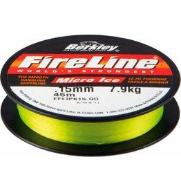 Berkley Berkley FireLine Micro Ice Green Dyneema Gevlochten Lijn