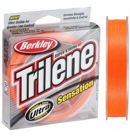 Berkley Berkley Trilene Sensation Blaze Orange Nylon Visdraad