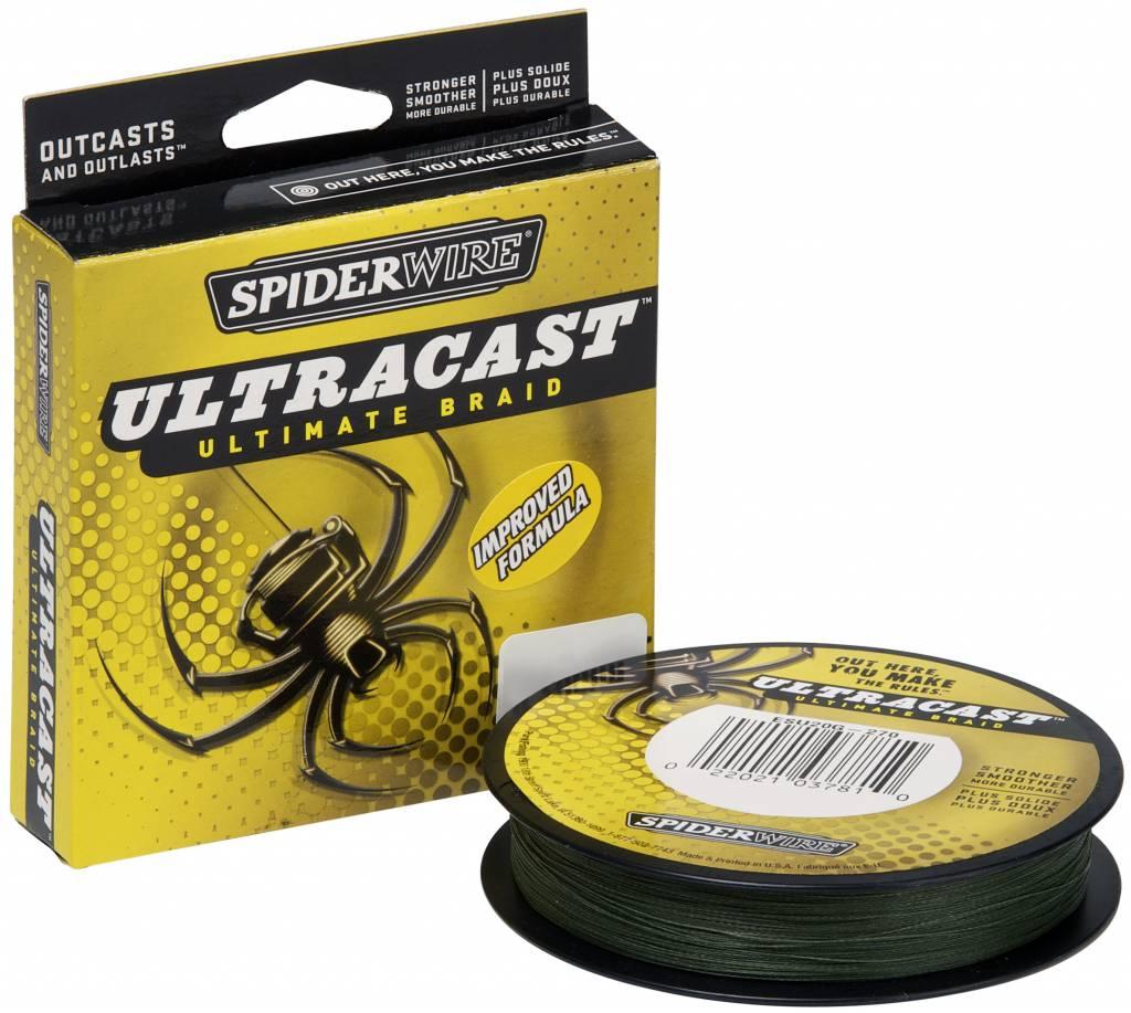 SpiderWire SpiderWire UltraCast Low-Vis Green Gevlochten Visdraad