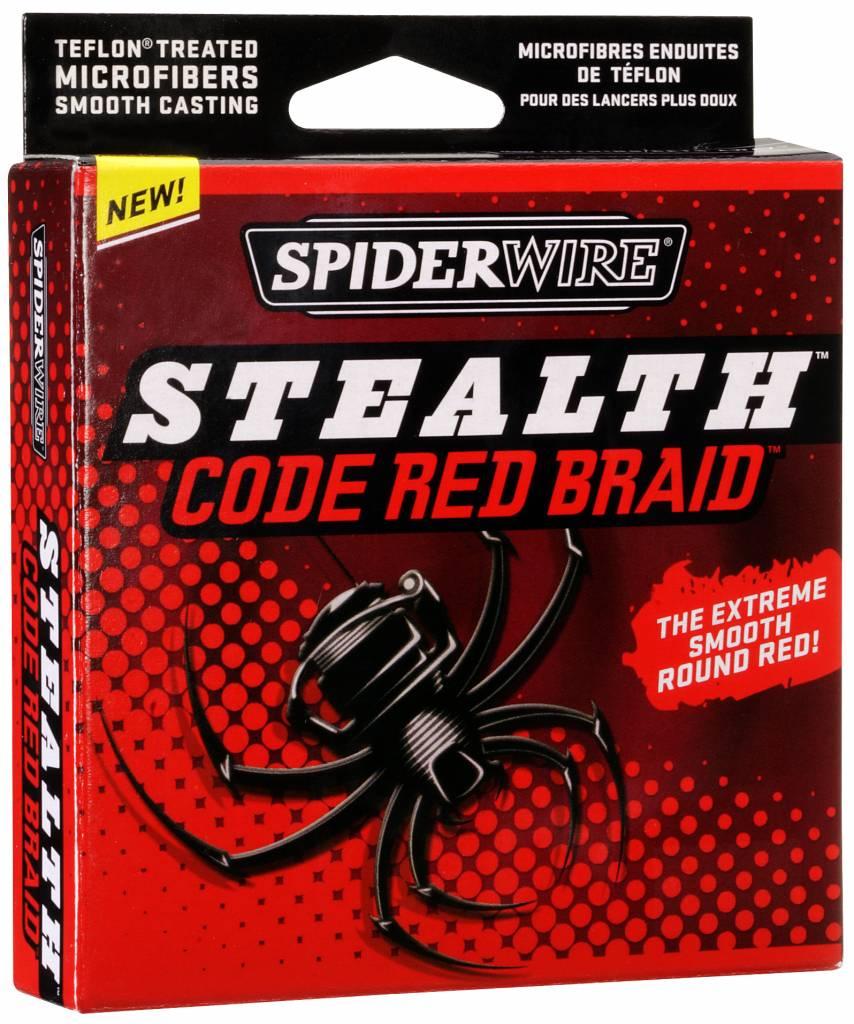 SpiderWire SpiderWire Stealth Code Red Dyneema Gevlochten Vislijn