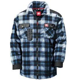 Thermo Overhemd Fleece Blauw